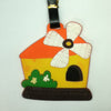 L00307 - Orange House Luggage Tag