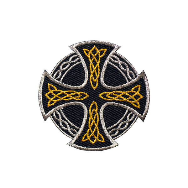 PT641 - Celtic Cross Shield (Iron on)