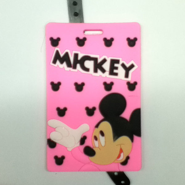 L00371 - Pink Mickey Luggage Tag