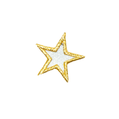 PH140 - Star with Golden Border (Iron on)