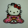 L00378 - Hello Kitty Flower Dress Luggage Tag