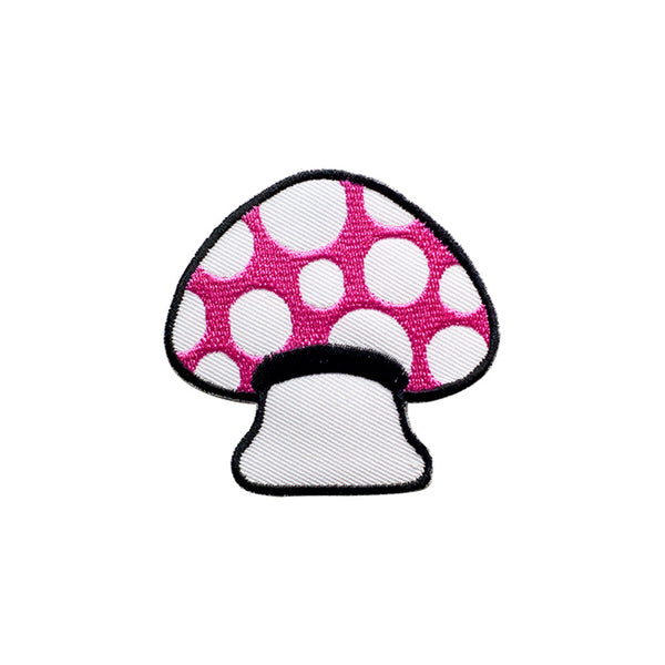 PT538 - Red-White Mushroom (Iron on)