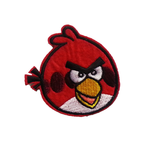 PH182 - Red Angry Bird (Iron on)