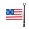 L00409 - US Flag Luggage Tag