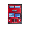 H00017 - Red Bus Passport Holder