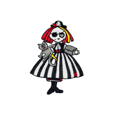 PH252 - Stripy Witch (Iron on)