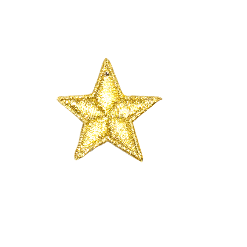 PH142 - Mini Gold Star (Sew on)