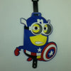 L00390 - Captain America Minion Luggage Tag