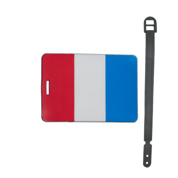 L00410 - France Luggage Tag