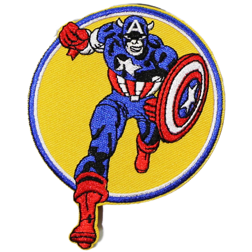 PH21 - Captain America (Iron on)