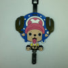 L00395 - X Blue Hat Girl Luggage Tag