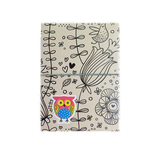H00009 - Owl Passport Holder