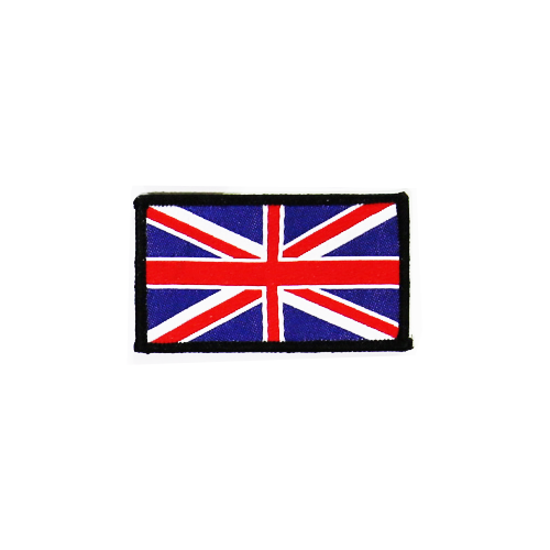 PH155 - Union Jack Black (Iron on)