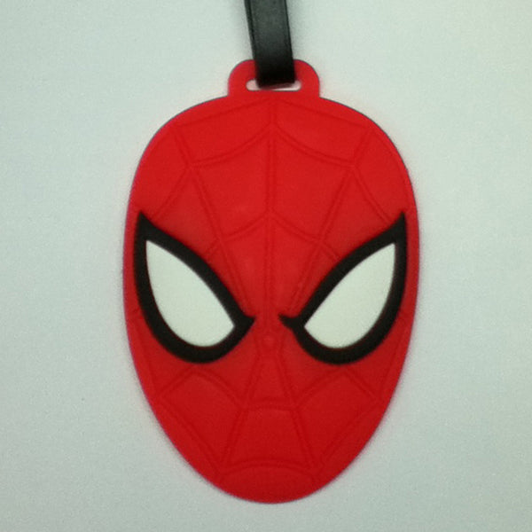 L00334 - Spider Man Head Luggage Tag