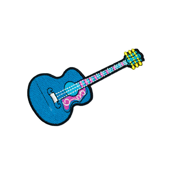 PT577 - Blue Guitar (Iron on)