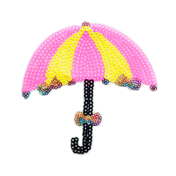PT302 - Sequin umbrella XL (Iron on)