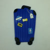 L00352 - Blue Luggage Luggage Tag
