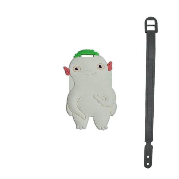L00362 - Cartoon Octupus Luggage Tag