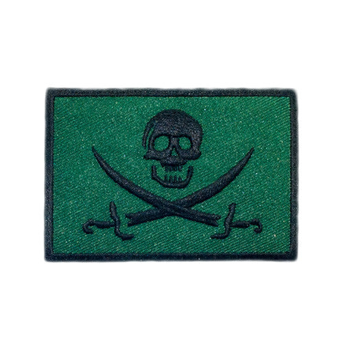 PH161 - Pirate Skull BlackJack (Iron on)