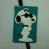 L00333 - Snoopy Blue Back Luggage Tag