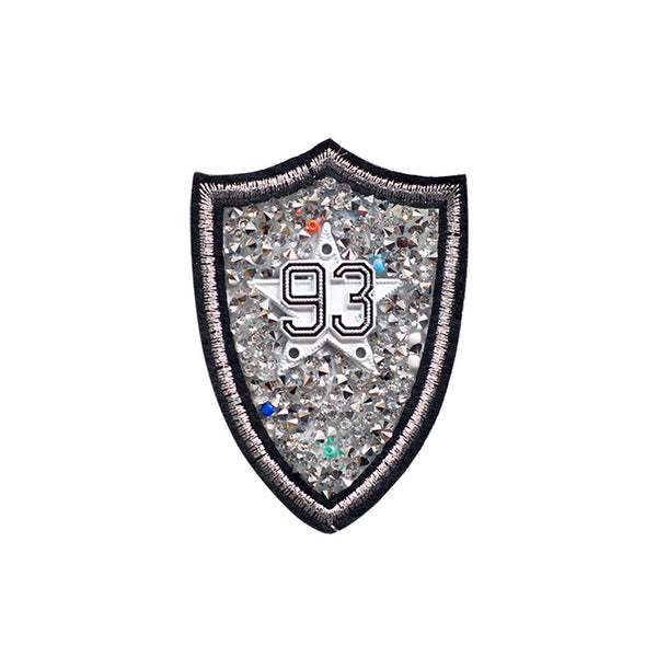 PT456 - Stone 93 Badge (Iron on)