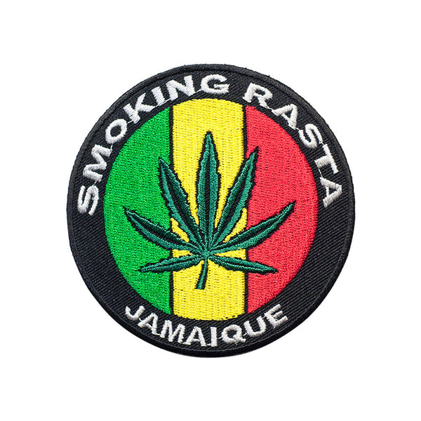 PT472 - Marijuana Badge (Iron on)