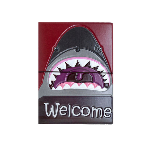H00043 - Shark Welcome Passport Holder