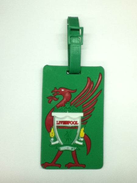 L00321 - Green Liverpool Luggage Tag