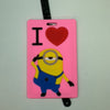 L00311 - I love Minion Luggage Tag