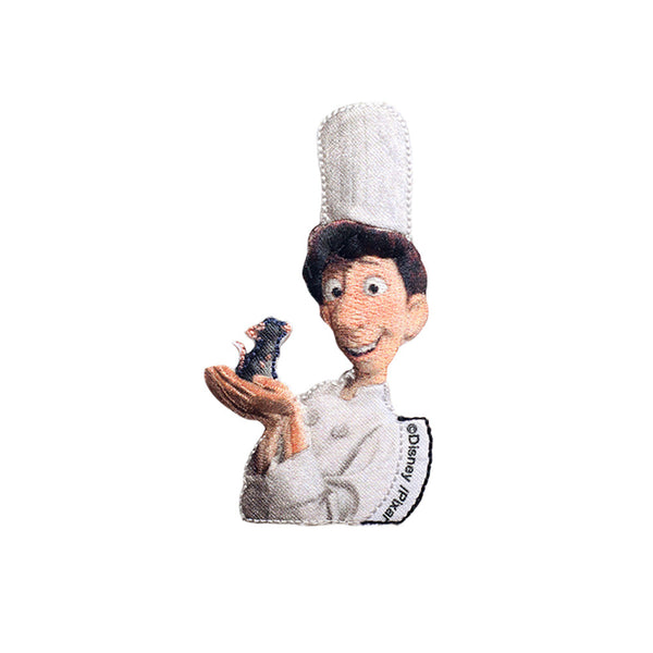 PT543 - Chef with mouse (Iron on)