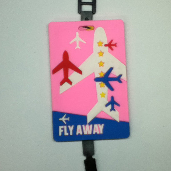 L00356 - Fly Away Luggage Tag