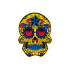 PH1 - Star Sugar Skull (Iron on) Patch