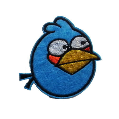 PH184 - Blues Angry Bird (Iron on)