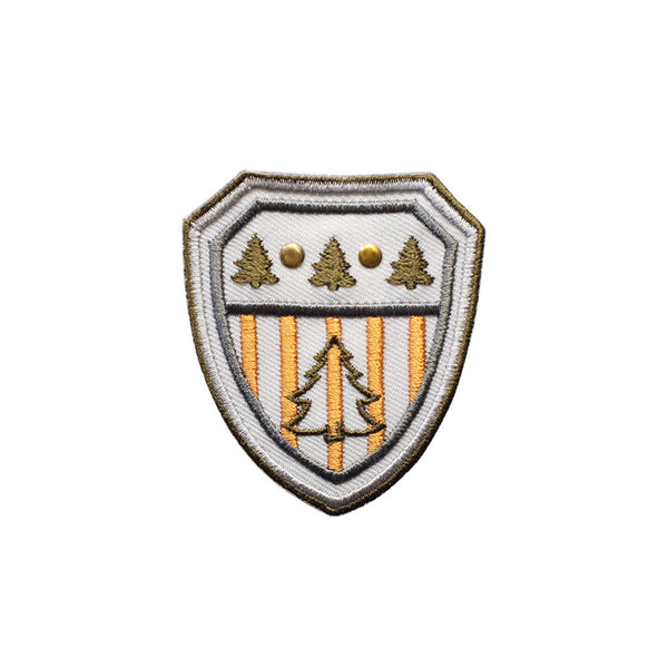 PT476 - Tree Badge (Iron on)