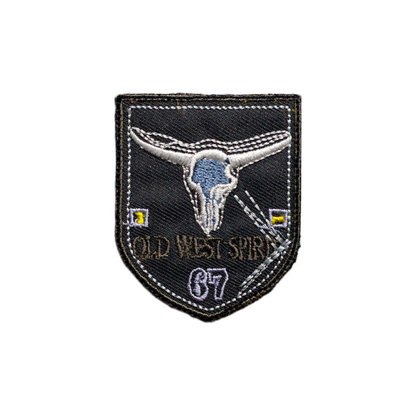 PT481 - Old West Badge (Iron on)