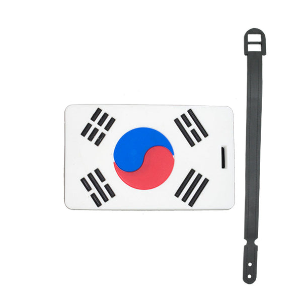 L00308 - South Korea Luggage Tag