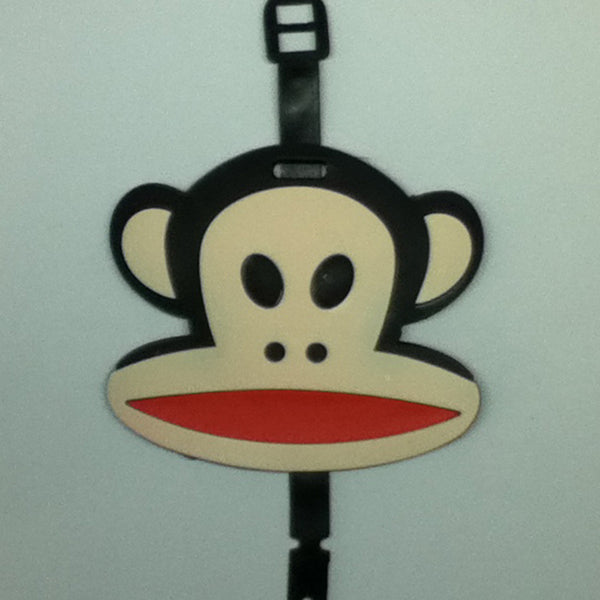 L00404 - Monkey Luggage Tag
