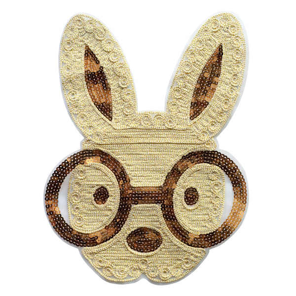 PT275 - Sequin rabbit XL (Sew On)