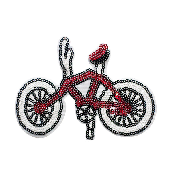 PT564 - Red bicycle (Sew on)