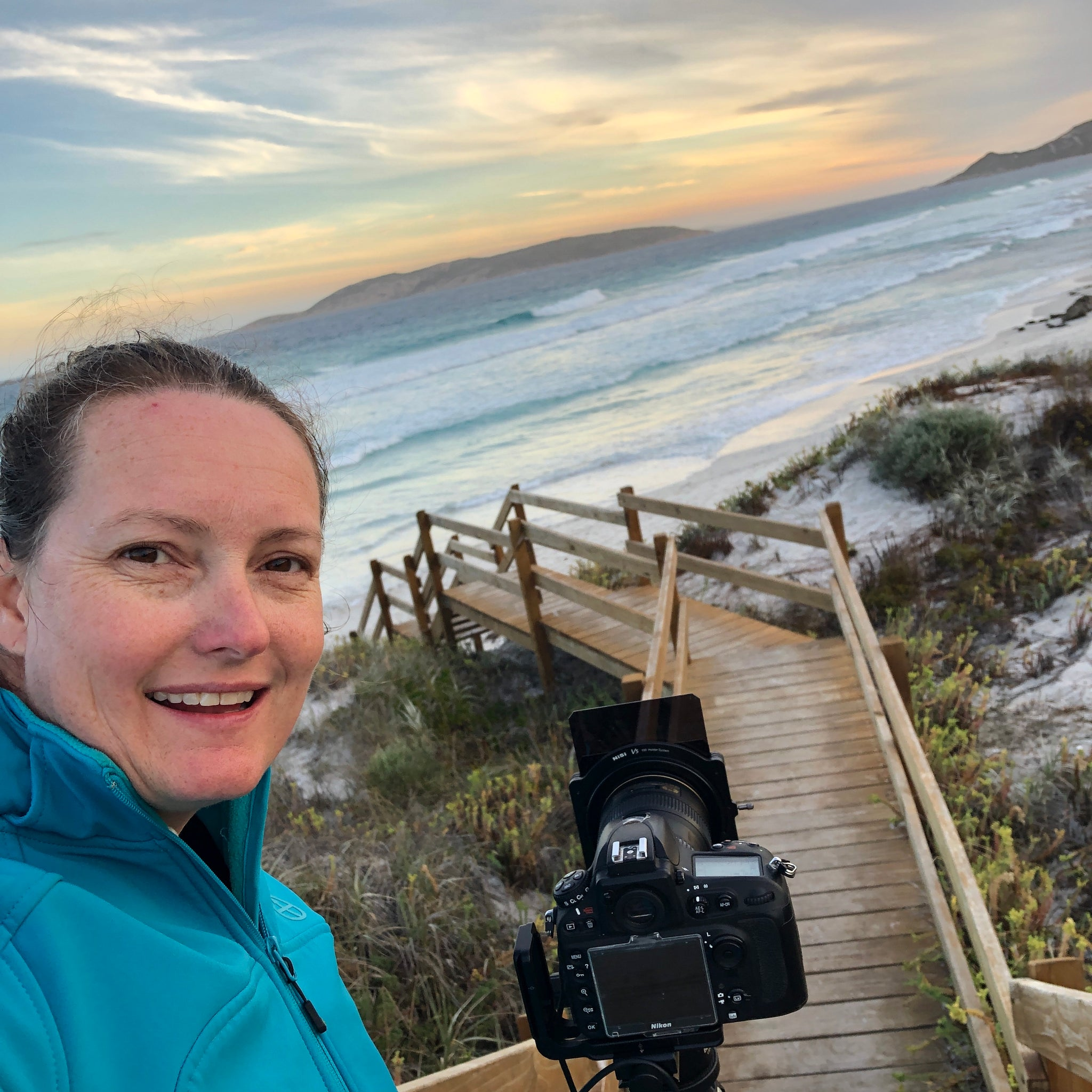 Out shooting a new image at one of my local beaches in Esperance, Western Australia