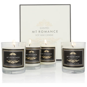 Sandalwood 4 Candle Set