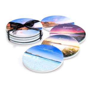 Ceramic Coasters - Set of Four - Printed in Esperance