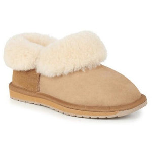 Emu Mintaro Chestnut Sheepskin Slipper