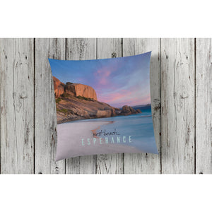 beautiful home decor and decorating cushion throw pillow nautical featuring West Beach by photographer Gary Alan
