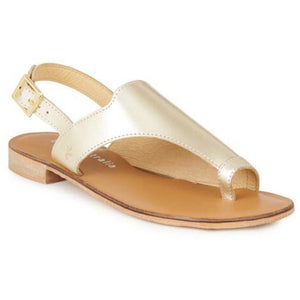 Emu Mado | Comfy Leather Sandal | Gold