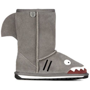 EMU Kids Shark Sheepskin Boots