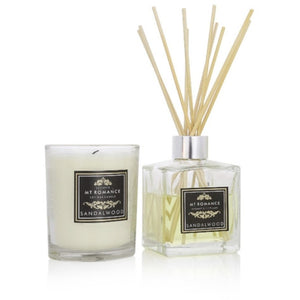 Sandalwood Reed Diffuser and Candle Set
