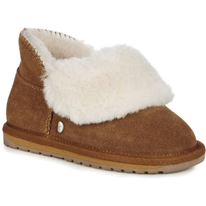 EMU Kids Mintaro Sheepskin Slippers Chestnut