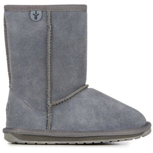 EMU Kids Wallaby Lo Charcoal Sheepskin Boots | NEW!