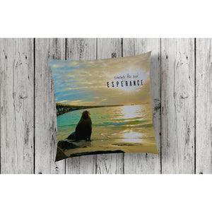 Cushion Cover | Made in USA |  Tanker Jetty